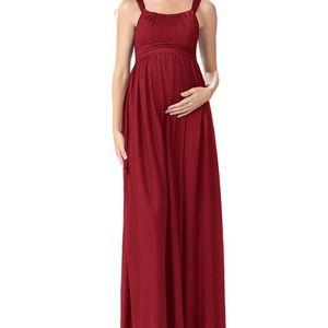 Brand new Azazie Maternity dress in Burgundy